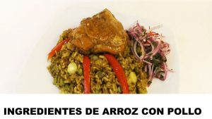 arroz con pollo ingredientes