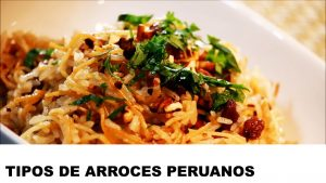 tipos de arroces peruanos